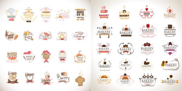 商标,创意logo图形,标志设计,商标设计,欧式花纹,卡通蛋糕面包,ai