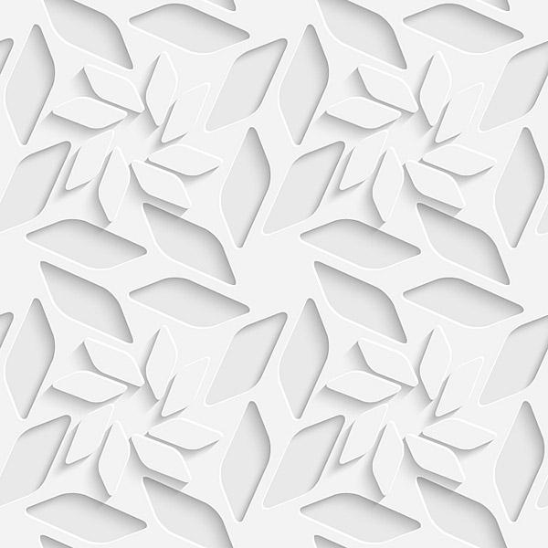 24针菱形花的编织图解