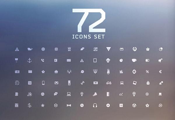 关键词: 精美的手机实用图标素材,小图标,白色图标,图标集,图标icon图片