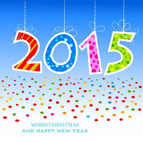 关键词: 彩色剪纸2015矢量素材,剪纸,碎纸片,吊饰,2015年,蝴蝶结,矢量