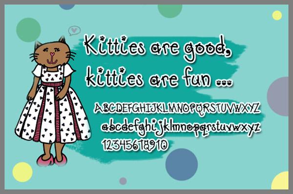 0 点 关键词: 猫爪英文字体,喵星人,猫爪,卡通字体,可爱字体,童趣