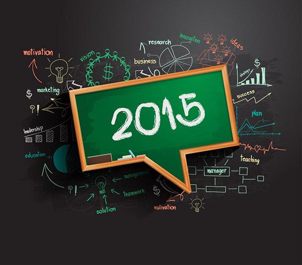 0 点 关键词: 时尚2015新年商务设计矢量素材,黑板,手绘图表,信息
