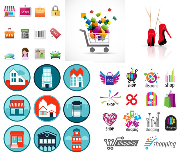 购物主题图标