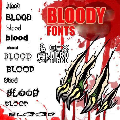 英文字库所需点数: 0 点 关键词: 流血英文字体,英文字体,可爱字体