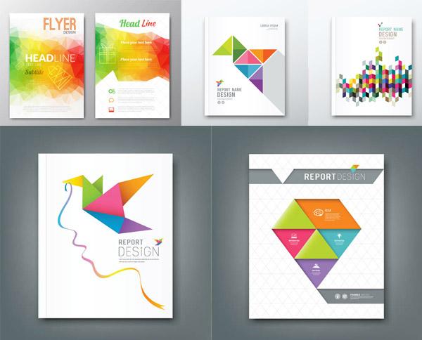 平面广告所需点数: 0 点 关键词: 几何图案元素画册封面设计矢量素材