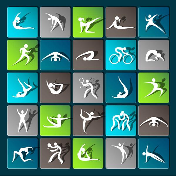 0 点 关键词: 奥运赛事图标矢量素材,体操,铅球,体育运动,奥运,越野