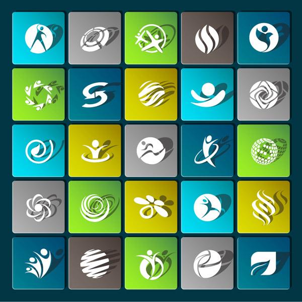 游戏logo花纹