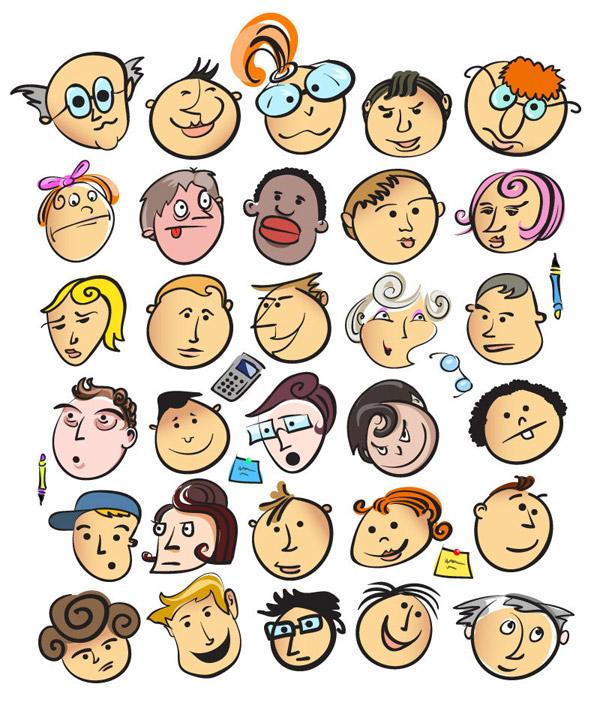 卡通人物头像