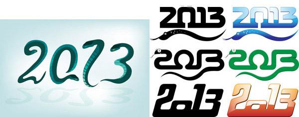 2013字体设计图片