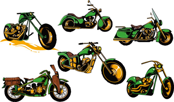 越野摩托车设计