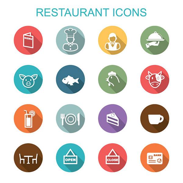 餐厅美食图标图片
