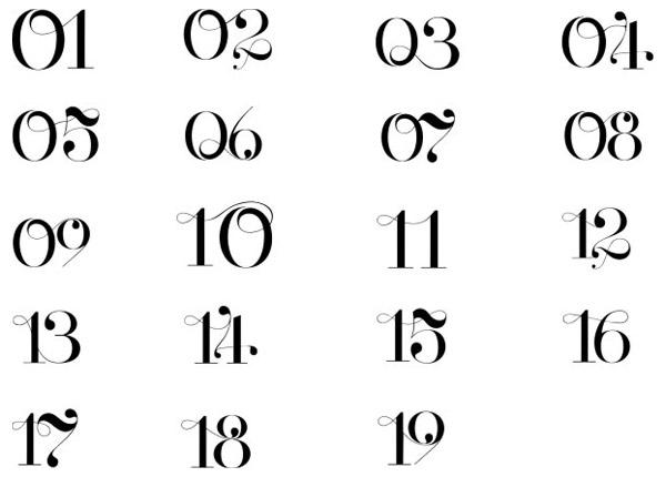 欧美艺术字广联达柱子绘制图片
