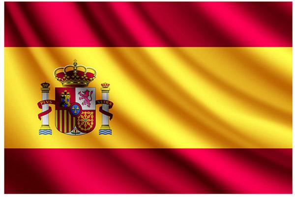 精美西班牙国旗