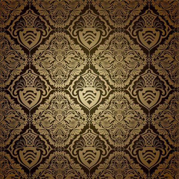 大马士革花纹