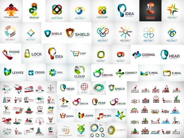 矢量logo图形所需点数: 0 点 关键词: 圣诞节图标与创意标志设计矢量图片