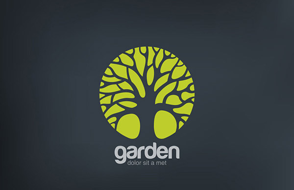 0 点 关键词: 大树标志设计矢量素材,绿色生态标志,大树图标,logo