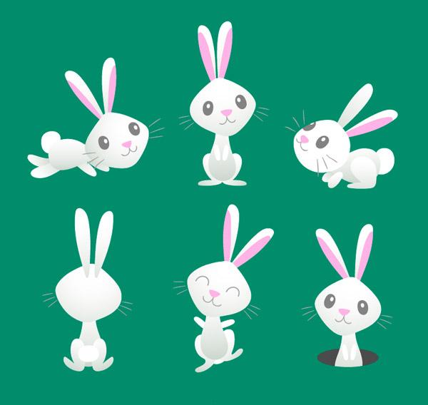 编织棉鞋中间兔子图纸