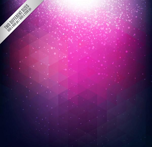 紫色欧式壁画贴图
