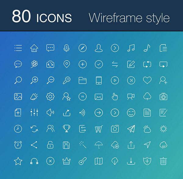 0 点 关键词: 线性图标设计矢量素材,白色图标,icon,手机应用,网站图片