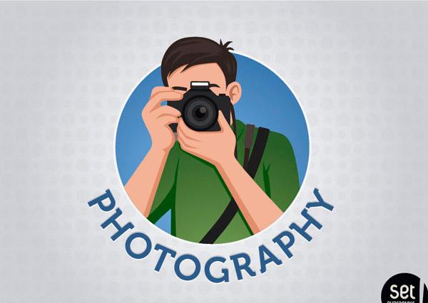 卡通摄影人物图片