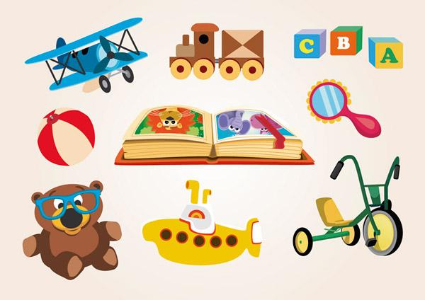 卡通儿童玩具_素材中国sccnn.com