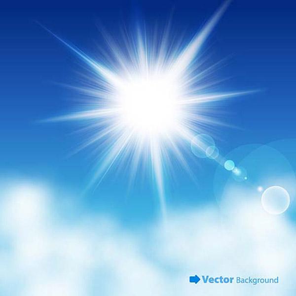 素材分类: 矢量自然风景所需点数: 0 点 关键词: 天空云朵素材,云层