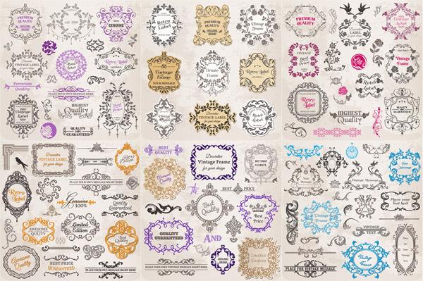 皇冠,边角,欧式花纹,装饰花纹,边框,花边,古典花纹,传统花纹,复古花纹