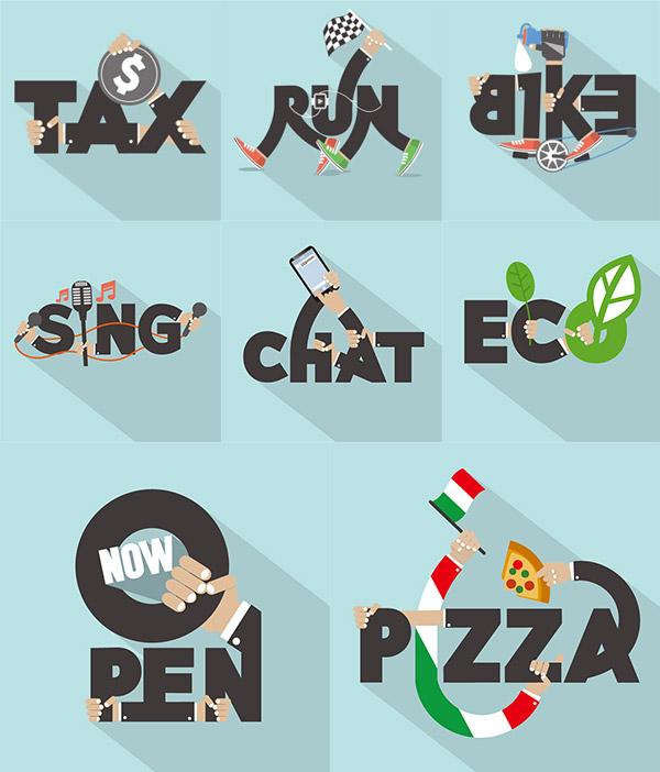创意英文字母_素材中国sccnn.com