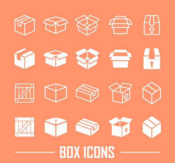 0 点 关键词: 白色盒子图标矢量素材下载,包装,木箱,盒子,纸盒子,矢量