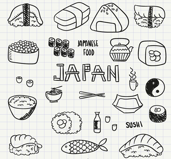 素材分类: 矢量美食所需点数: 0 点 关键词: 美味日本料理矢量素材