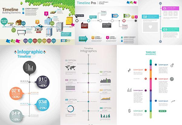 矢量商务金融所需点数: 0 点 关键词: 时尚事件时间轴设计矢量素材