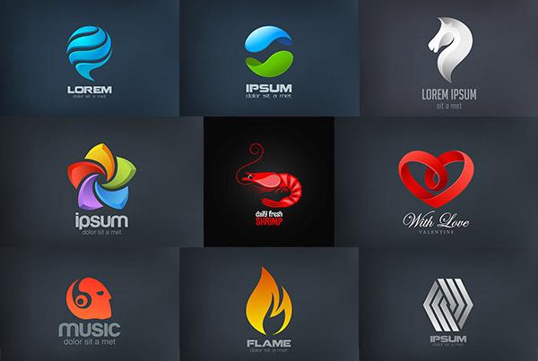0 点 关键词: 时尚立体logo设计矢量素材,3dlogo,太极logo设计,银色