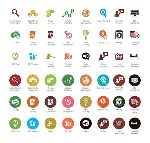扁平化图标_素材中国sccnn.com