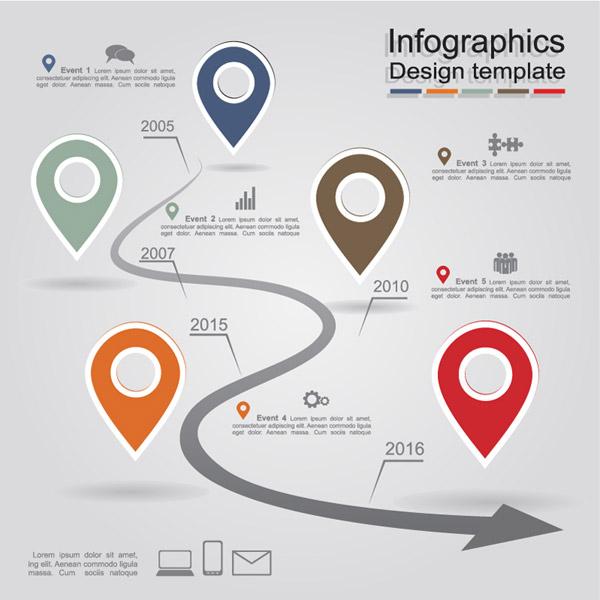 0 点 关键词: 创意地标商务信息图矢量素材下载,时间表,地标,信息图
