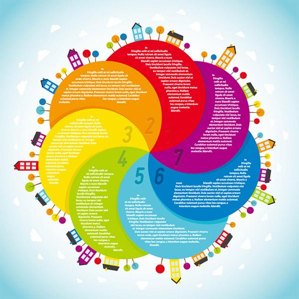 0 点 关键词: 创意彩色螺旋花瓣商务统计矢量素材,城市建筑,绚丽花瓣