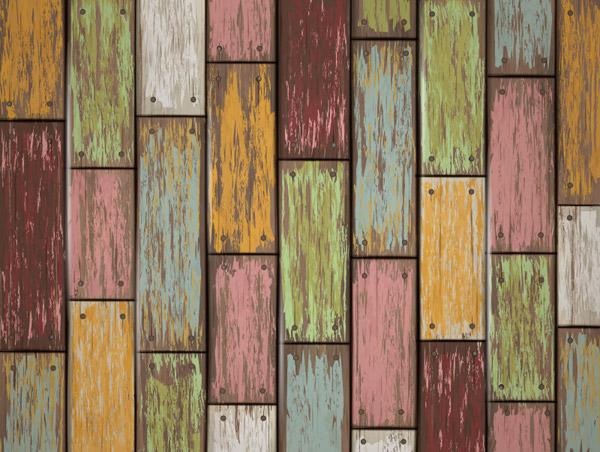 彩色木条纹背景