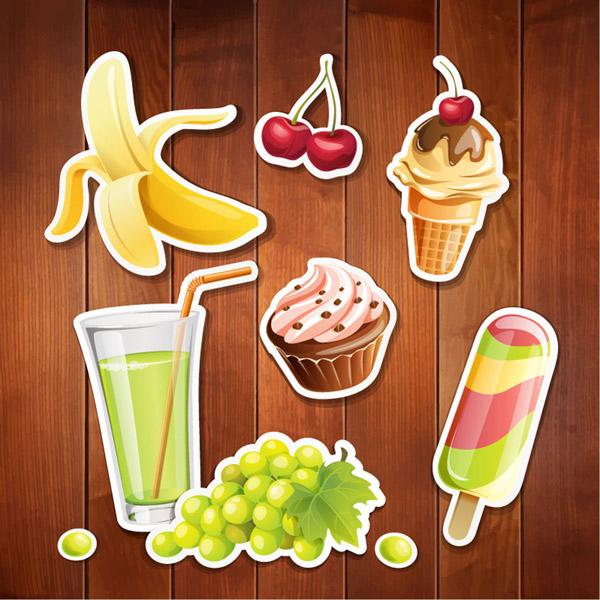 樱桃,冰淇淋