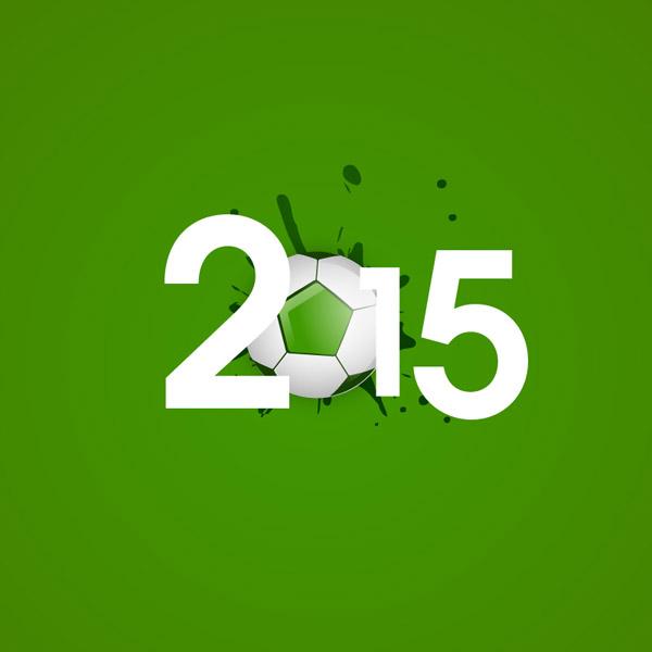 2015足球艺术字图片