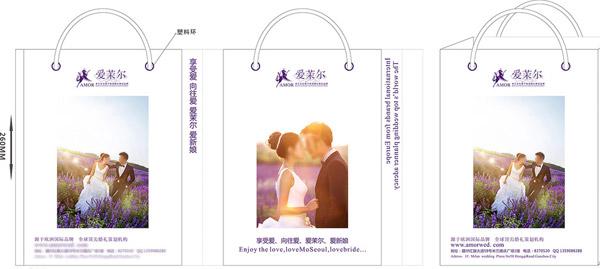关键词: 影楼购物袋免费下载,包装设计,购物袋,影楼袋子,袋子矢量素材