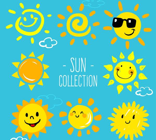 可爱太阳设计