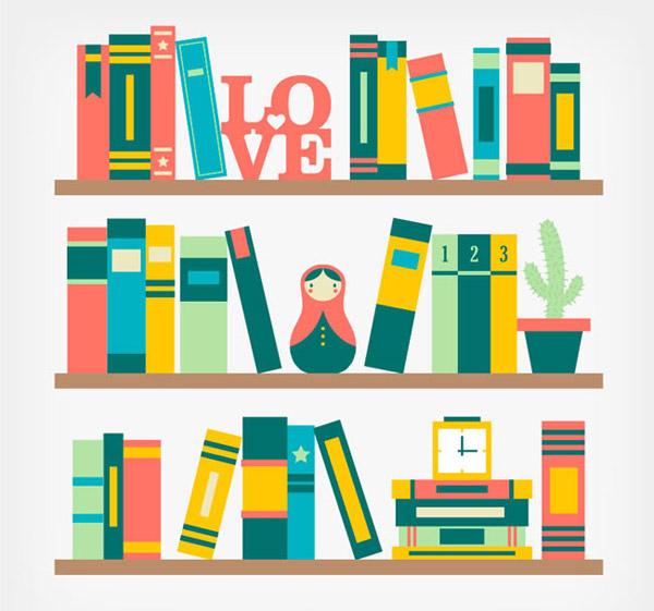 0 点 关键词: 彩色书架矢量素材下载,摆件,书本,盆栽,时钟,不倒翁