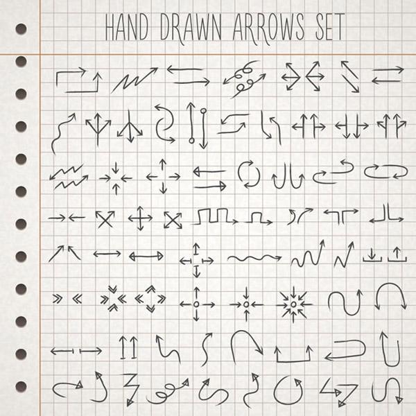 0 点 关键词: 手绘箭头矢量素材下载,格子纸,箭头,手绘,方向,双向箭头