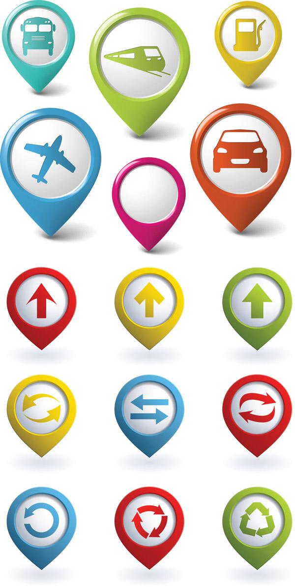生活运输指示图标