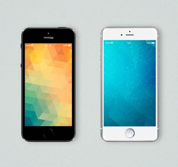 苹果手机_iphone6手机矢量