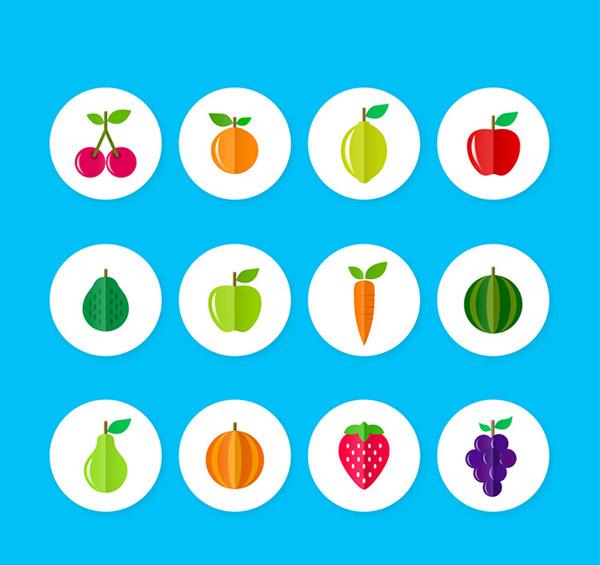 蔬菜水果图标