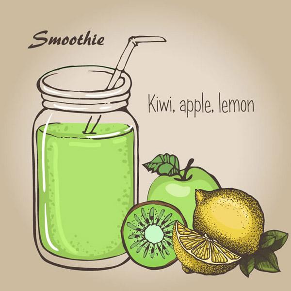 素材分类: 矢量美食所需点数: 0 点 关键词: 新鲜水果与冰沙矢量素材