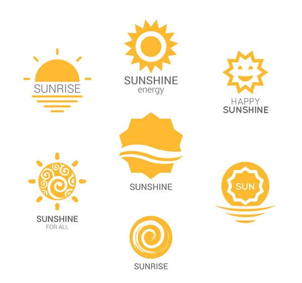 素材分类: 矢量logo图形所需点数: 0 点 关键词: 黄色太阳标志矢量