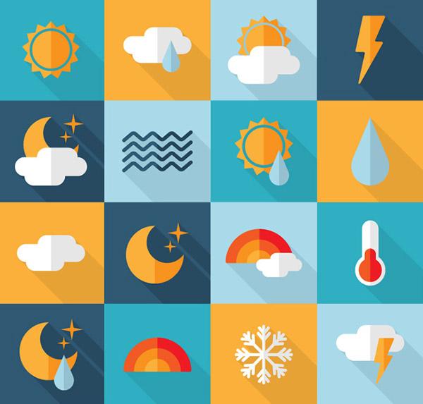 天气图标矢量_素材中国sccnn.com
