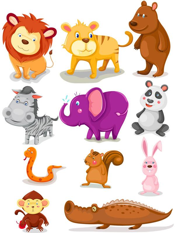 手绘动物漫画学习