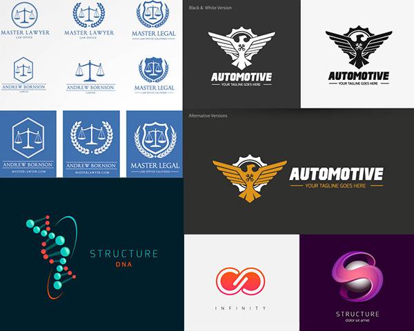 矢量logo图形所需点数: 0 点 关键词: logo标志创意设计矢量素材集合图片